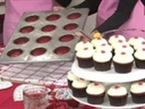 Red Velvet Cupcake Demonstration