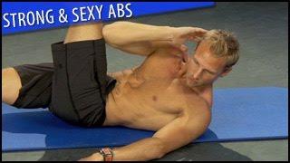 Strong & Sexy Abs Workout: Steve Jordan- Beginner