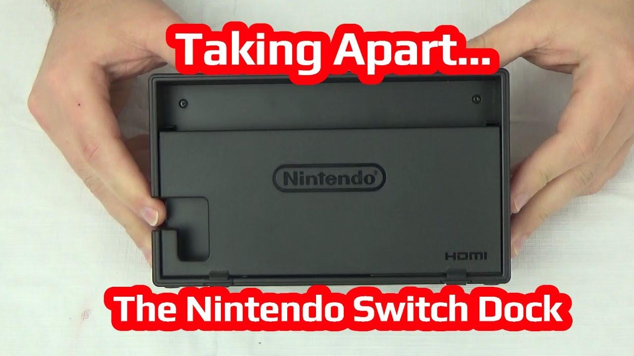 Taking Apart The Nintendo Switch Dock Youtube
