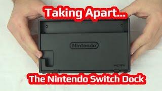 Taking Apart The Nintendo Switch Dock!