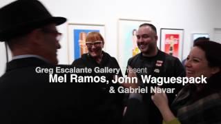Greg Escalante Gallery Present: Mel Ramos, John Waguespack & Gabriel Navar thumbnail