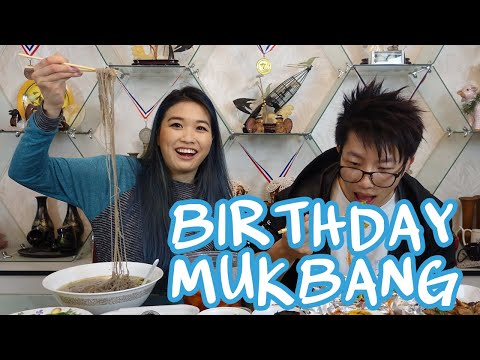 My Birthday Mukbang!