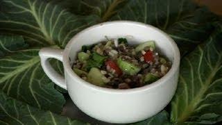 Lentil & Brown Rice Salad : Lentil Recipes