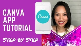 Canva Tutorial - How to use Canva app on mobile to create stunning graphics