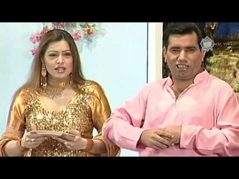 Best of Nasir Chinyoti and Megha New Pakistani Stage Drama Full Comedy Clip