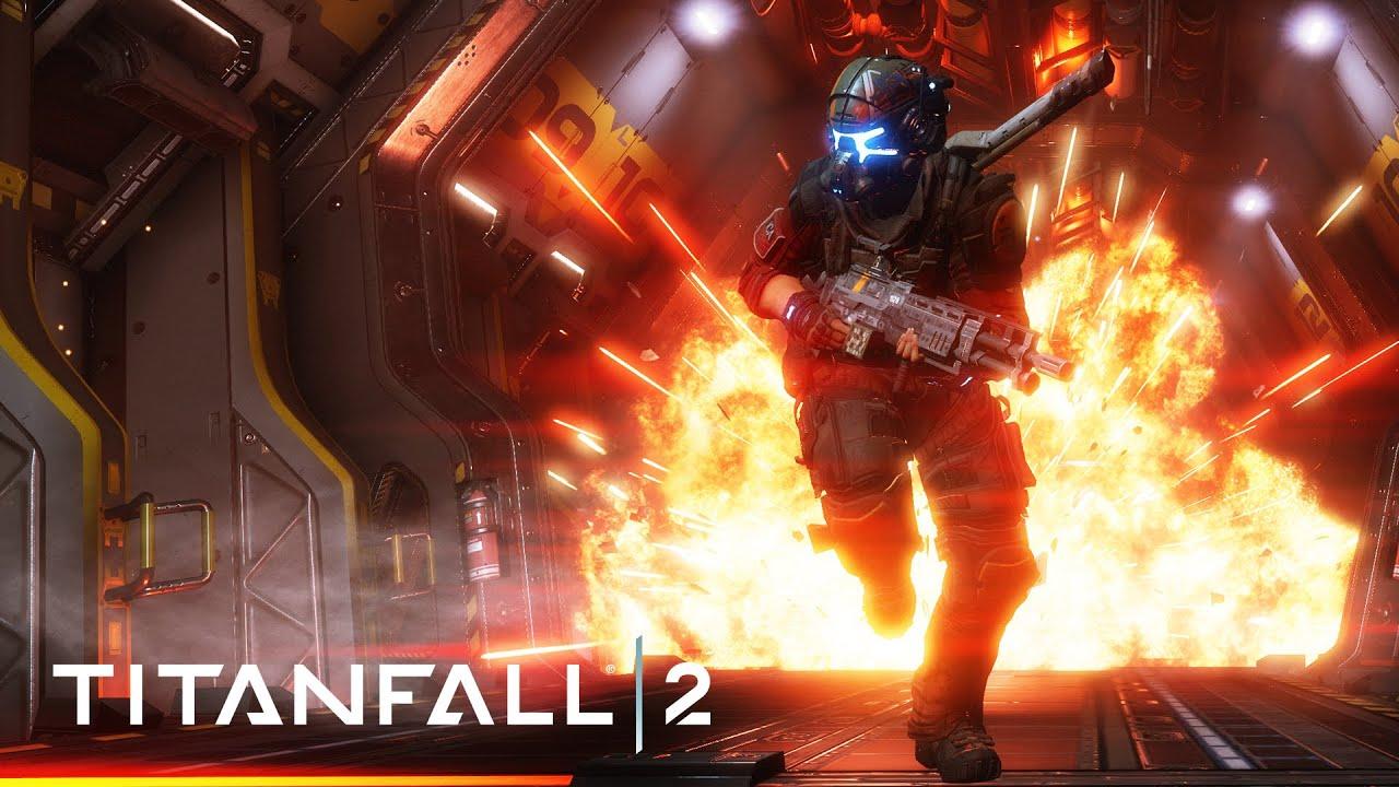 Titan Fall 2 Hd Wallpaper Titanfall 2 Single Player Gameplay Vision Youtube