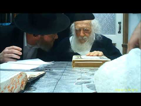 Hagaon HaRav Chaim Kanievsky Video About Burial In Israel
