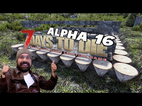 Getting Ready | 7 Days To Die Alpha 16 Let's Play Gameplay P
