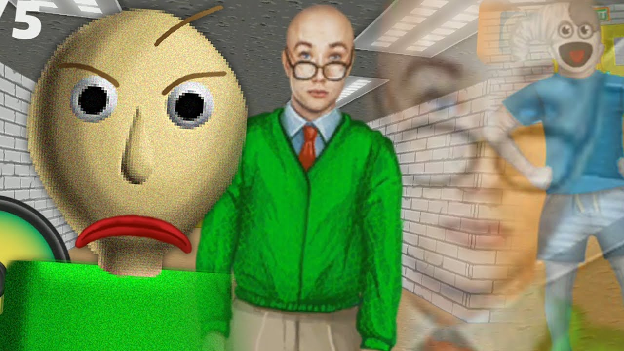 NO BALDI RIP OFFS IN THE HALLS! | Baldi's Basics Rip off Games (baldi's basics apps)