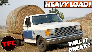 We Turned This Old Ford F-150 Into A Heavy Hauling Beast! Then It Completely Exploded...