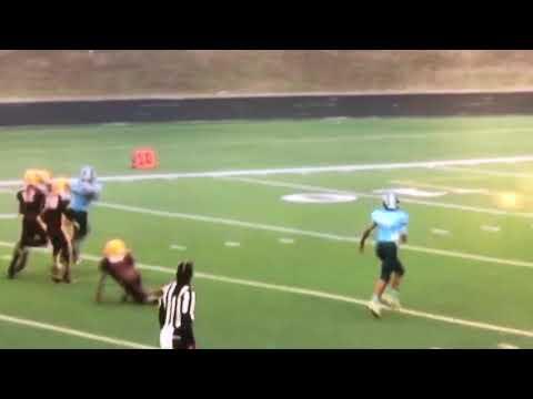 Sean Brown 1 touchdown king 1st touchdown!! 4 tds in 1 game!!!!!