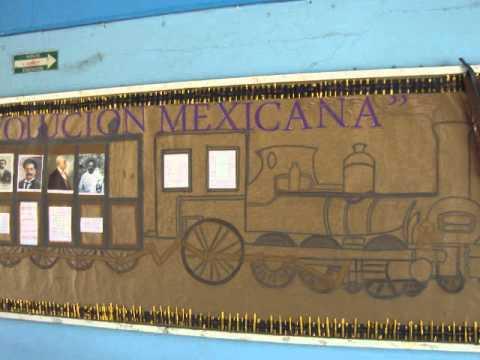 Peri dico mural revoluci n mexicana 2011 youtube for Editorial periodico mural