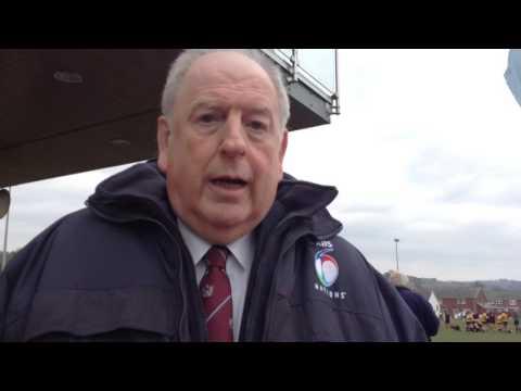 Selwyn Walters - y gêm gyntaf o rygbi yng Nghymru