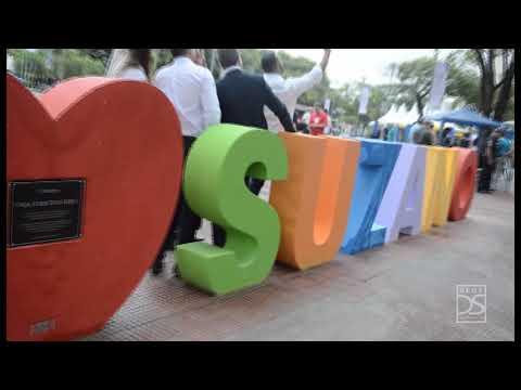 Dia de diversão com música, brinquedos, dança e artesanato marca entrega da Praça Cidade das Flores