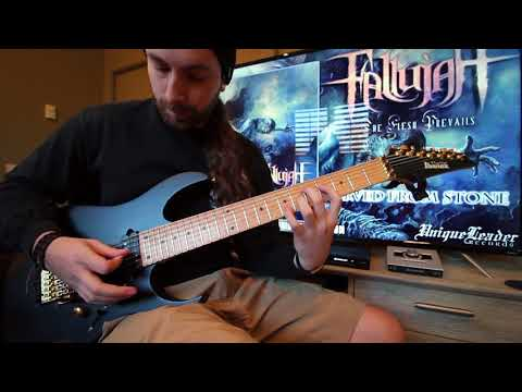 Brian James    FALLUJAH - Carved From Stone (Guitar Playthrough)