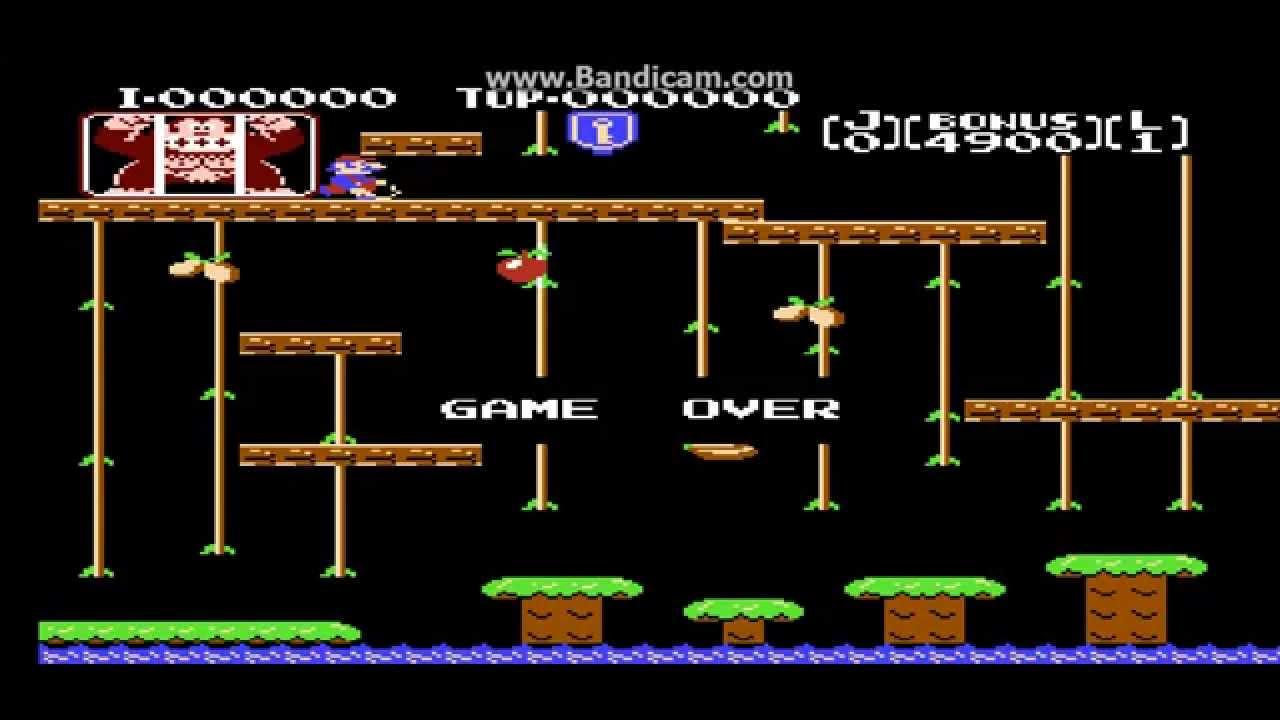 LCD Games: Donkey Kong Jr Nintendo Game & Watch - YouTube