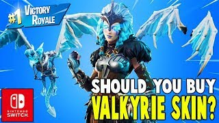 Should You Buy The Valkyrie Skin?!! (Nintendo Switch) - Fortnite Battle Royale Gameplay