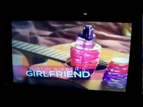 Justin Bieber GIRLFRIEND COMMERCIAL