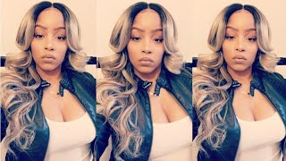 Ash Blonde realness! Affordable Synthetic Wig | Ebonyline.com