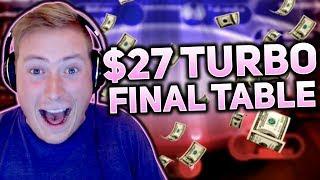 $27 TURBO FINAL TABLE!!! | PokerStaples Stream Highlights
