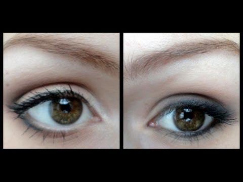Maquillage correctif yeux trop petits/ trop grands