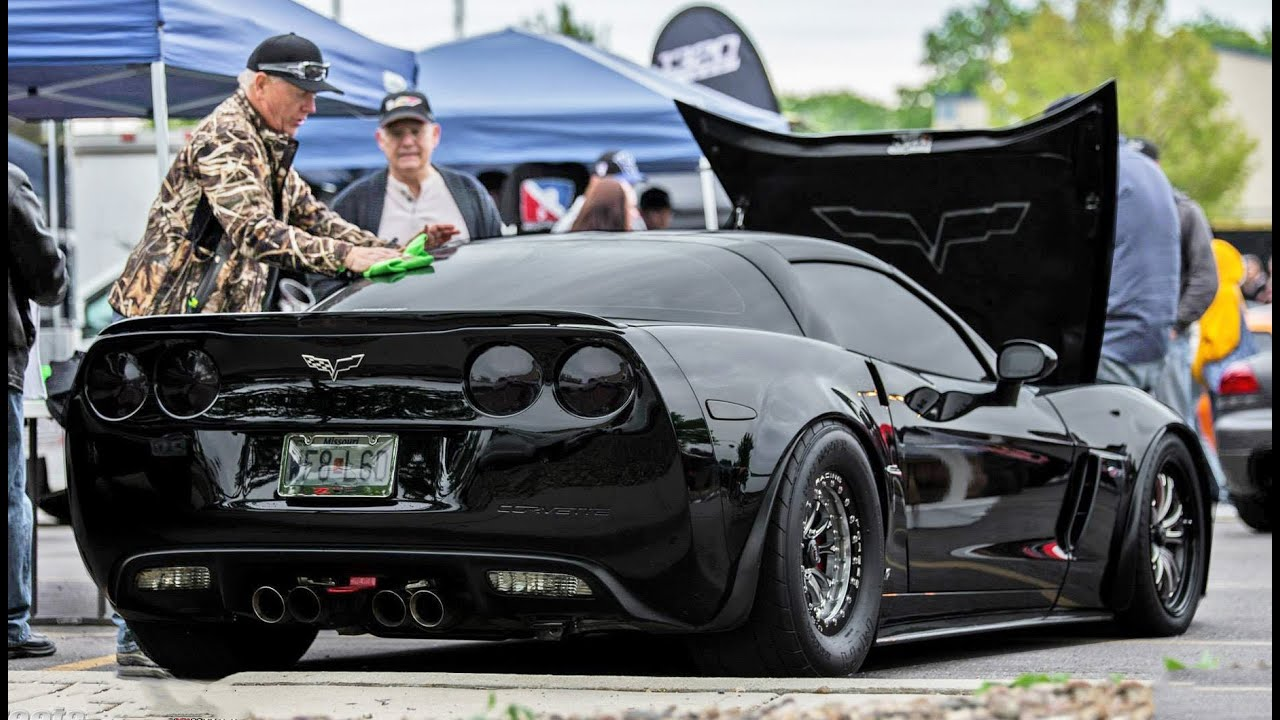 BADASS Z06 Corvette @ SCT KC - YouTube