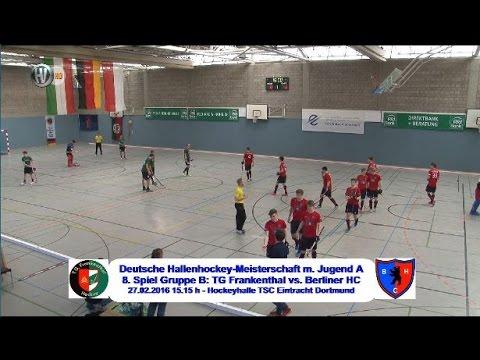 8. Spiel Gruppe B Deutsche Hallenhockey-Meisterschaft männliche Jugend A 2016 Hockeyvideos