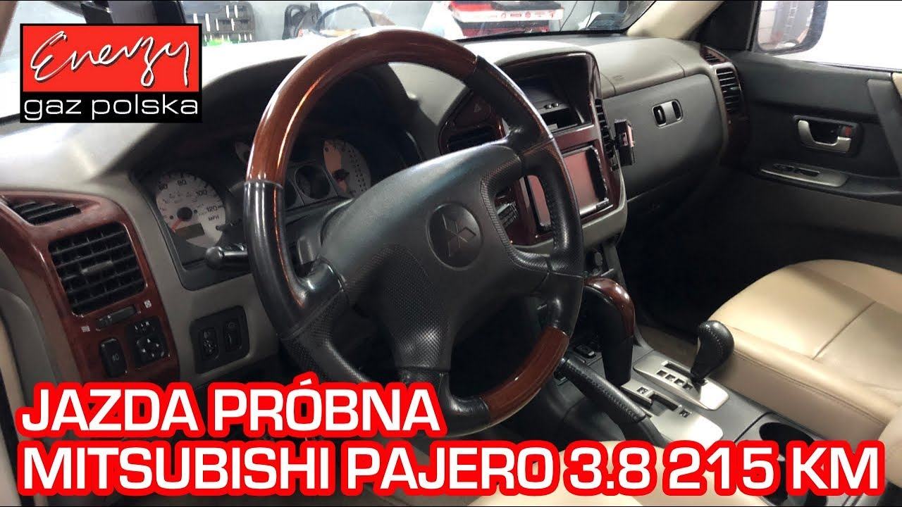 Jazda próbna testowa: Test LPG Mitsubishi Pajero 3 8 215KM 2005r w Energy  Gaz na auto gaz BRC SQ P&D