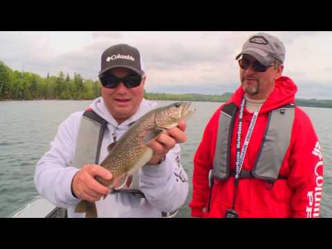 Real Fishing Show - Laurentian Lodge Lakers And Smallmouth - Bob Izumi