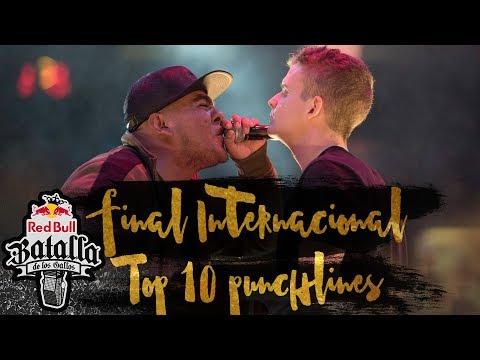 Top 10 mejores punchlines de la Final Internacional de México | Red Bull Batalla de los Gallos