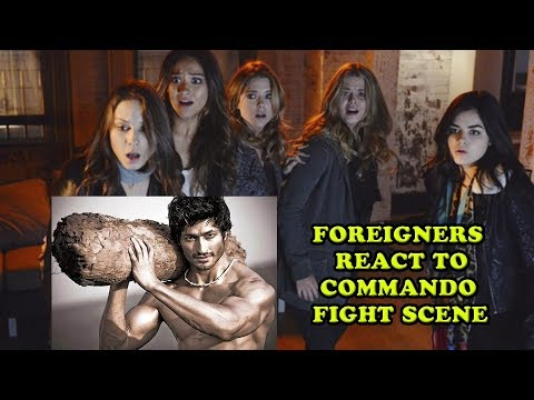 Foreigners React to Commando Movie Fight Scene | Vidyut Jammwal