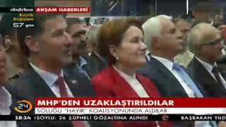 """PKK, FETÖ, DHKP-C ve marjinal sol """"Hayır"""" diyor"""