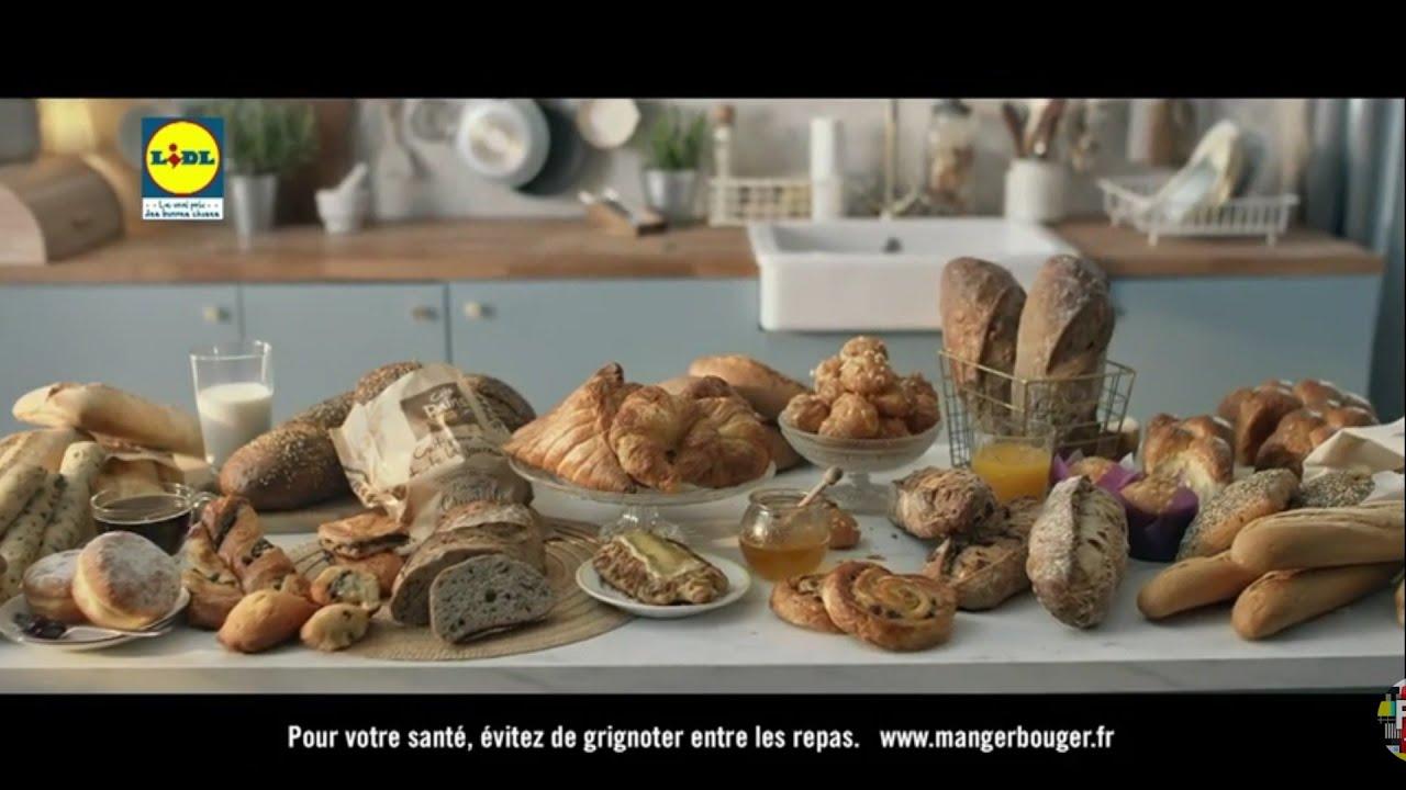 """Musique de la pub Lidl – pains et viennoiseries """"bien plus que vous ne l'imaginez""""  Juin 2021"""