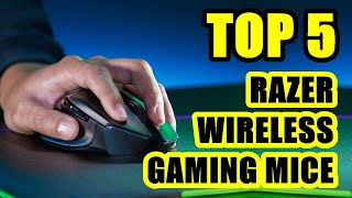 TOP 5 ❌ Best Razer Wireless Gaming Mouse with Optical Sensor 2021