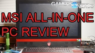 MSI AG270 All-in-One Gaming PC Review