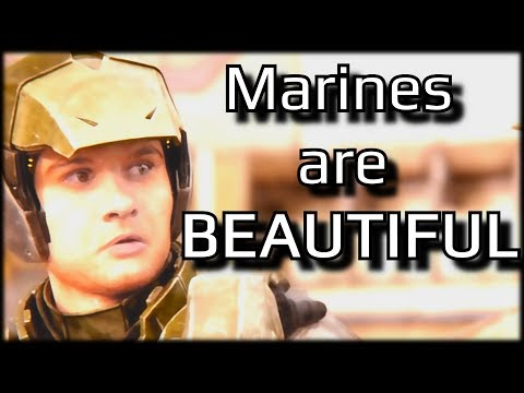 Halo's marines are BEAUTIFUL