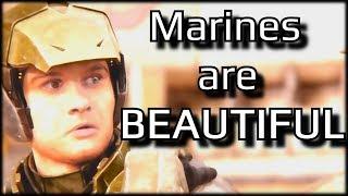 Halo's marines are BEAUTIFUL