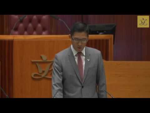 Lam Cheuk-ting protests against CY Leung during his oath taking at Hong Kong Legco.