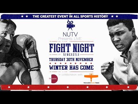 Fight Night | Winter Has Come - NUTV LIVE