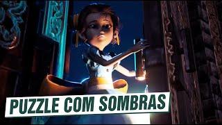 INCRÍVEL e DIFÍCIL PUZZLE com SOMBRAS! Tandem: A Tale of Shadows (Gameplay em Português PT-BR)