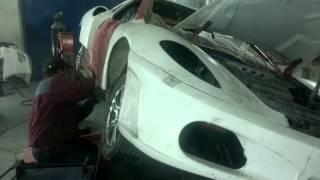ЯН :) Собираем Ferrari F430 на базе Peugeot 406 часть 2-ая
