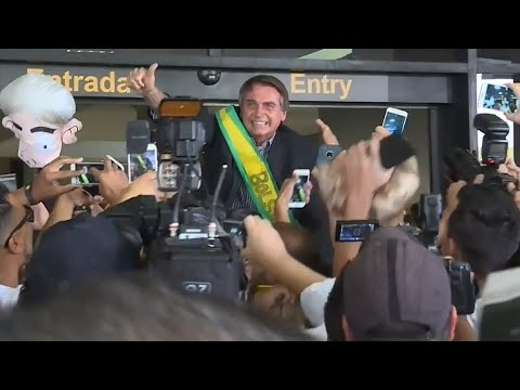 CHEGADA DO BOLSONARO EM NAVEGANTES/SC