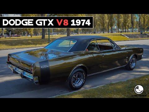 DODGE GTX V8 1974 - PERSONALIZADA.
