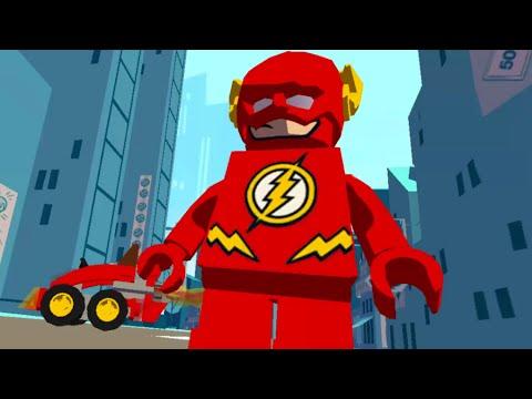 Лего игра про супергероев с русской озвучкой - Супергерой Флэш