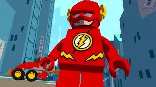 Мультики Лего. Супергерой Флэш. Развивающие мультфильмы для детей