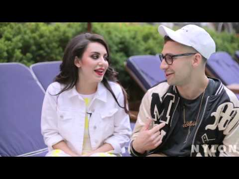 Charli XCX and Jack Antonoff (Interview for NYLON)