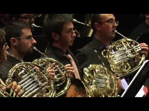 II PART Concert Jove Banda Simfònica FSMCV, Cinema Jove. Suite 1936 de Miguel Asins Arabó