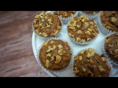 Banana Nut Muffin (HEALTHY)