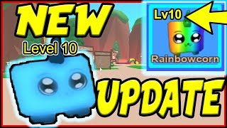 NEW MASSIVE UPDATE IS OUT! | Level Up Your Pets! Roblox Mining Simulator