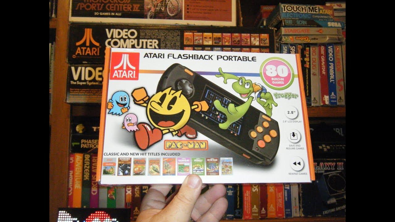 Atari Flashback Portable 2018 Retro Game Console - YouTube